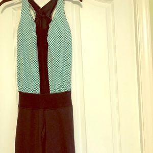 Cute polka dot lululemon jumpsuit. Size 2 or 4.